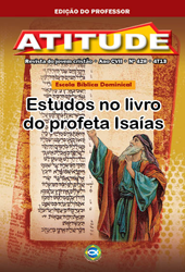 Atitude (Professor) - 4º Trimestre 2013  - Distribuidora EBD