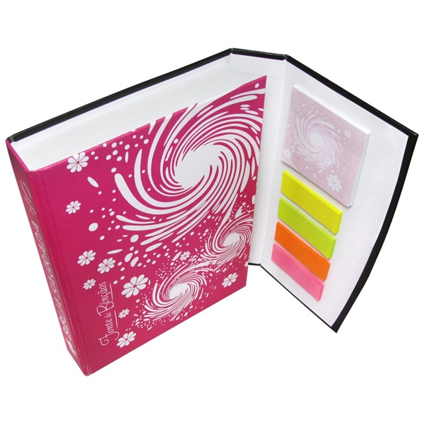 Bíblia Sagrada Sticky Notes - NTLH043LMFBA  - Distribuidora EBD
