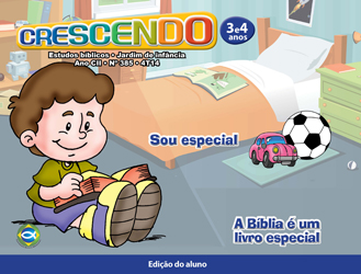 Crescendo (ALUNO) - 4º Trimestre 2014  - Distribuidora EBD
