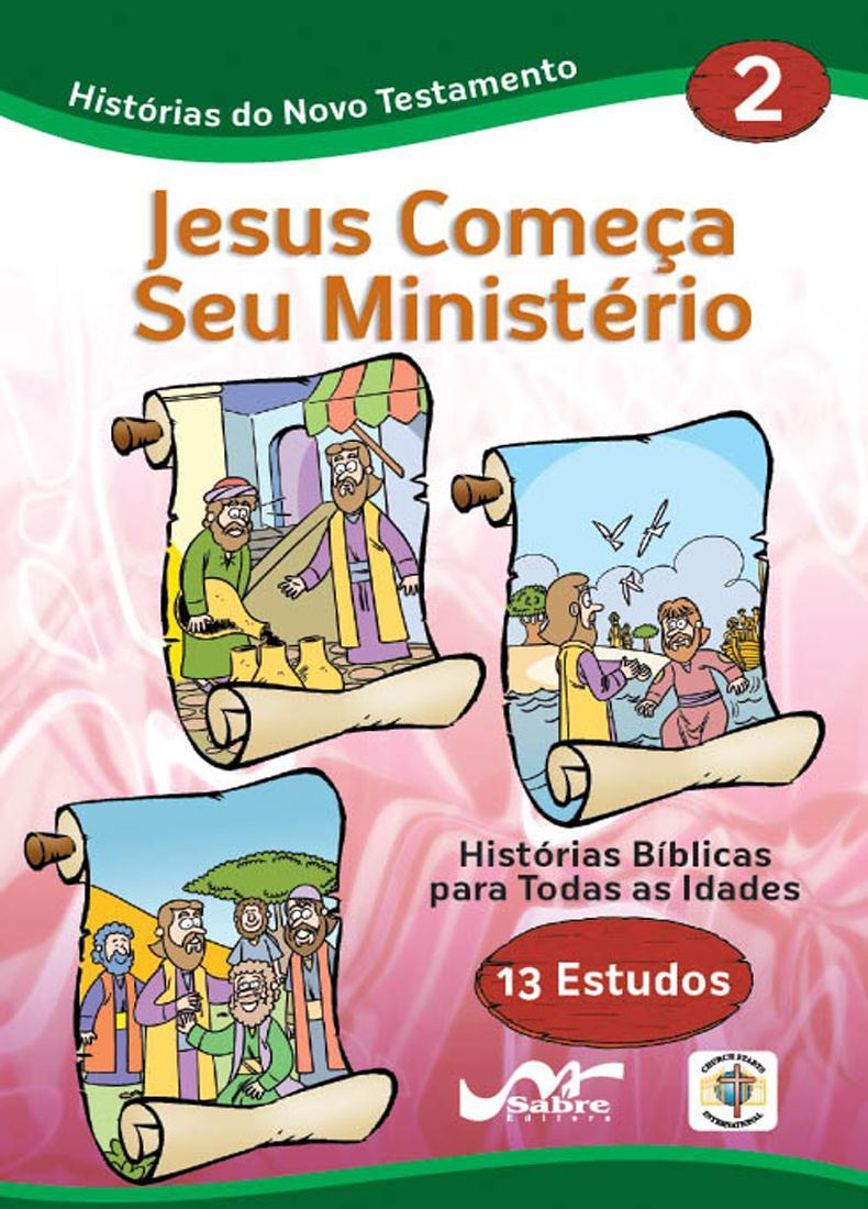 Histórias Bíblicas para Todas as Idades - Novo Testamento - Vol 2  - Distribuidora EBD