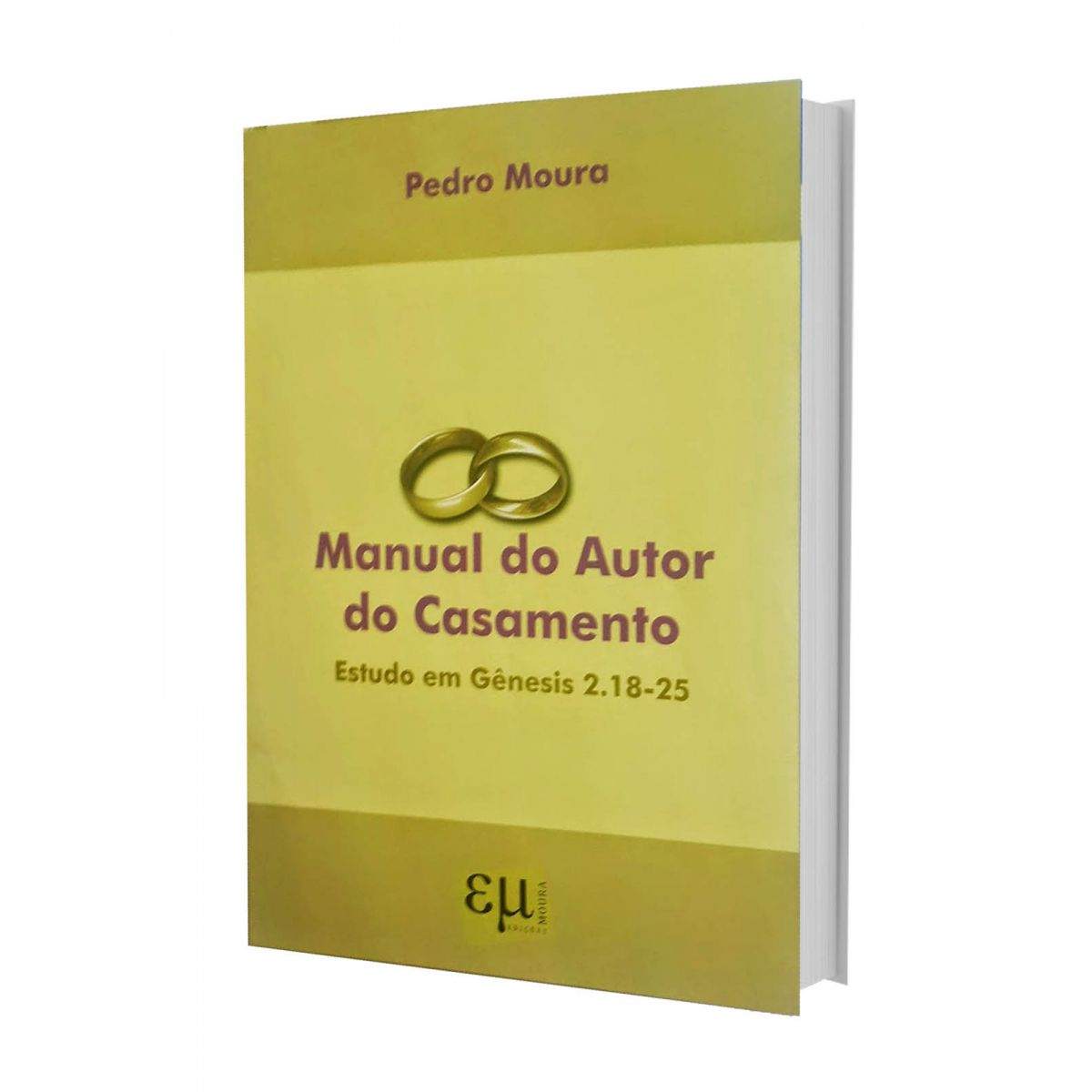 Manual do Autor do Casamento  - Distribuidora EBD
