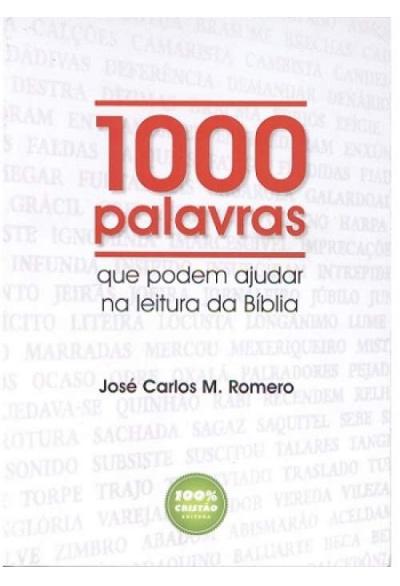 1000 palavras que podem ajudar na leitura da Biblia  - Distribuidora EBD
