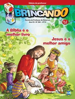 Brincando (Professor) - 4º Trimestre 2014  - Distribuidora EBD