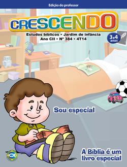 Crescendo (Professor) - 4º Trimestre 2014  - Distribuidora EBD