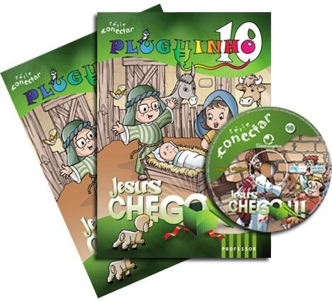 10 - Jesus chegou! (KIT PROF)  - Distribuidora EBD