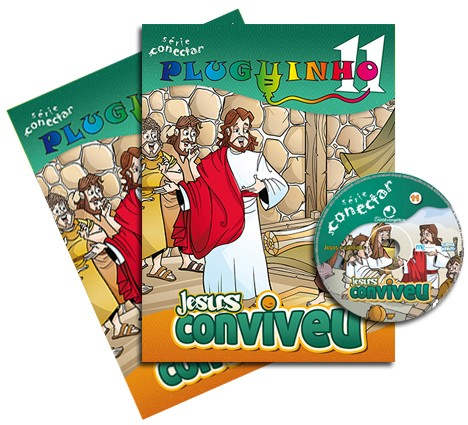11 - Jesus conviveu (KIT PROF)  - Distribuidora EBD