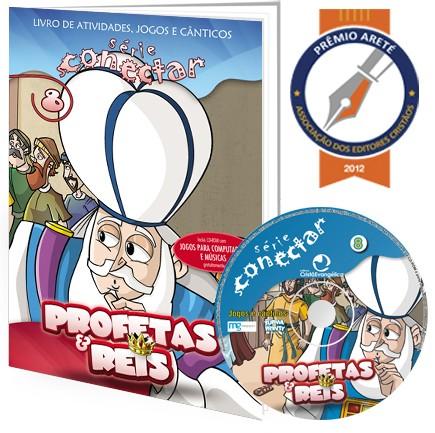 08 - Profetas e reis (LIVRO/CD)  - Distribuidora EBD