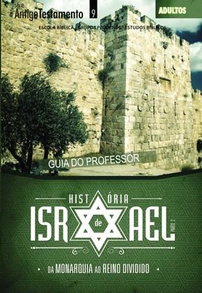 História de Israel Vol. 2 (PROFESSOR)  - Distribuidora EBD