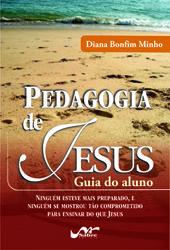 Pedagogia de Jesus + Caderno de atividades  - Distribuidora EBD
