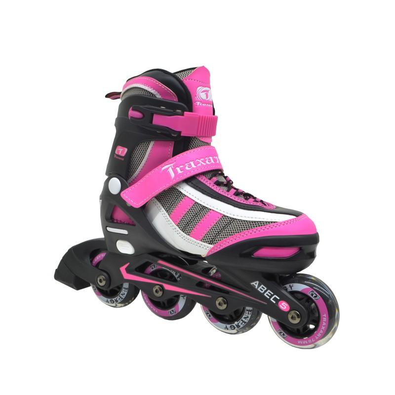 Patins Infanto-juvenil Traxart Energy - Pink