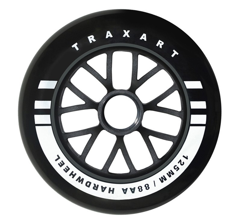 RODA 125mm/88AA HARDWHEELS - PRETO