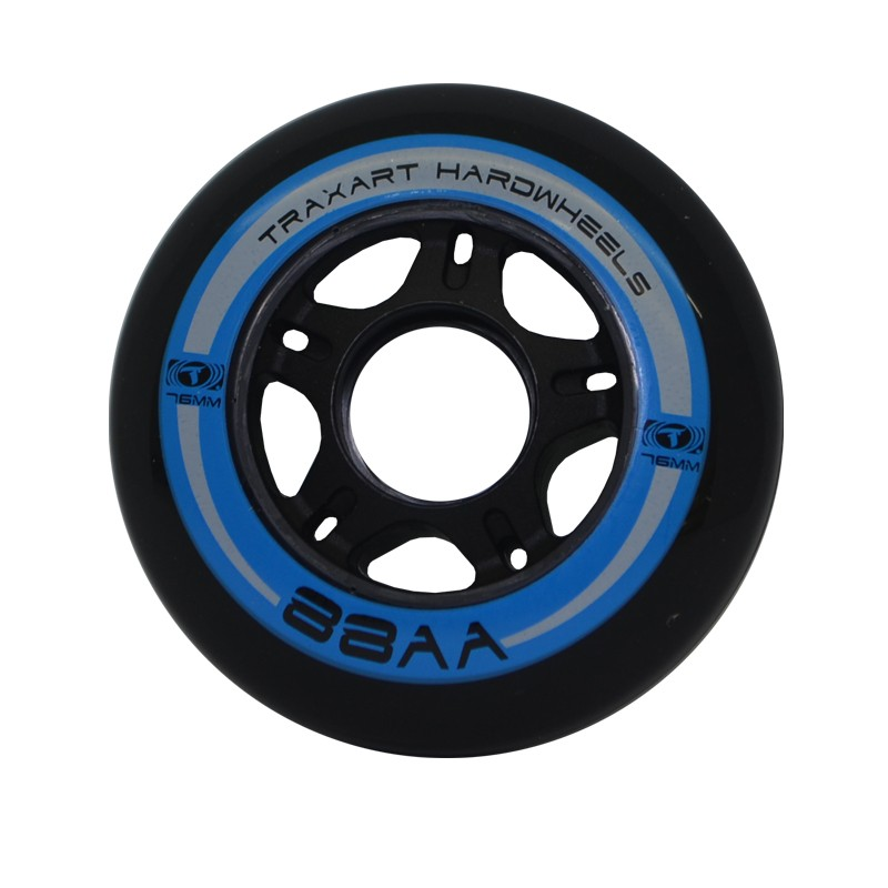 RODA 76mm/88AA HARDWHEELS - PRETO