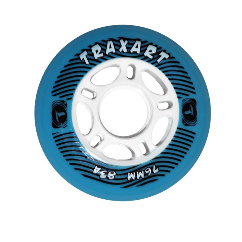 RODA 76mm TRAXART - AZUL
