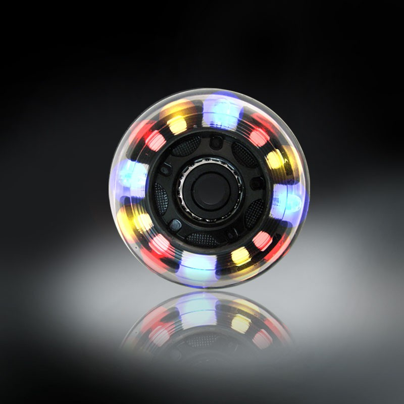 RODAS COM LUZES DE LED - COLORIDO - 72MM