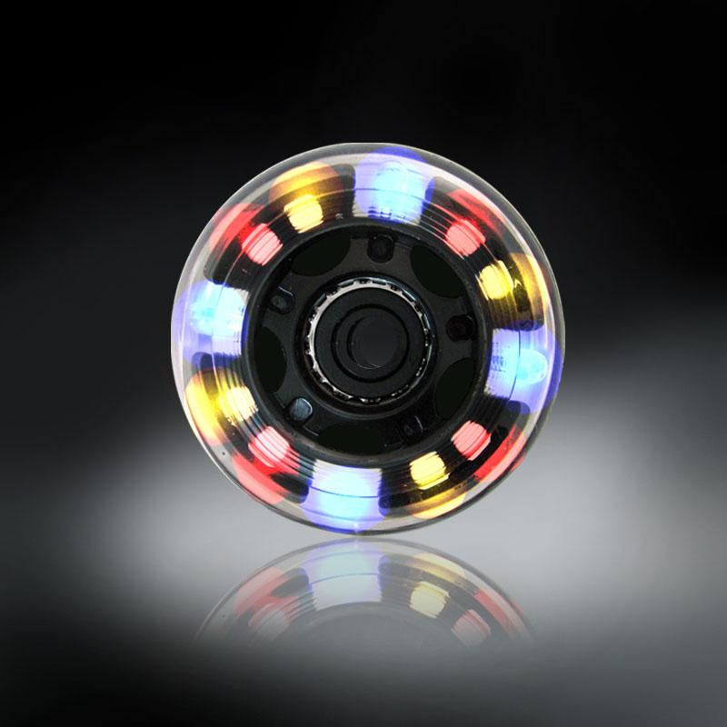 RODAS COM LUZES DE LED - COLORIDO - 76MM