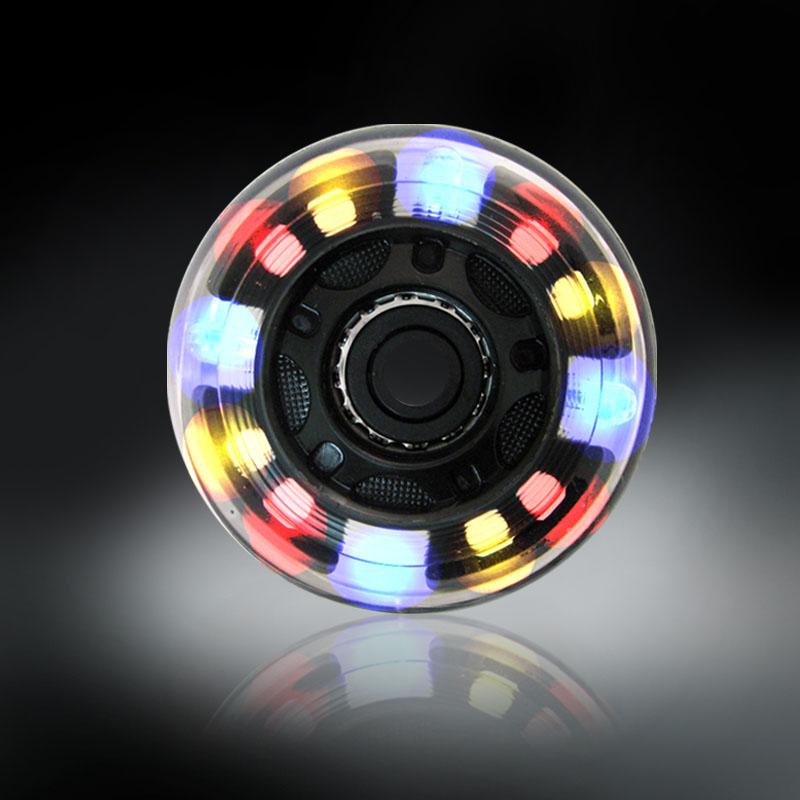 RODAS COM LUZES DE LED - COLORIDO - 80MM
