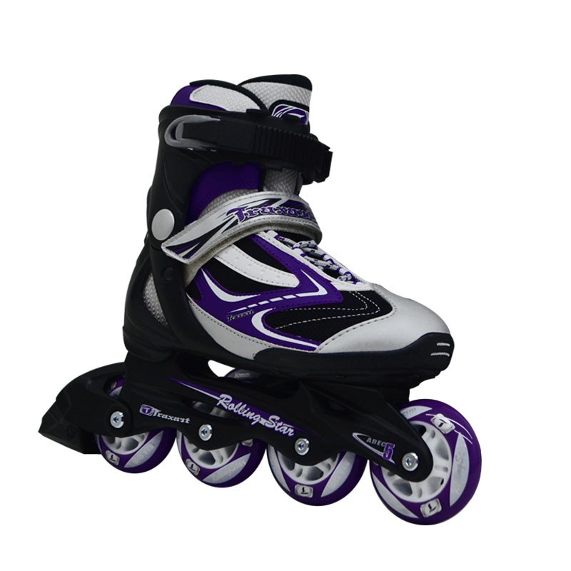 Patins Inline Traxart Rolling Star Roxo