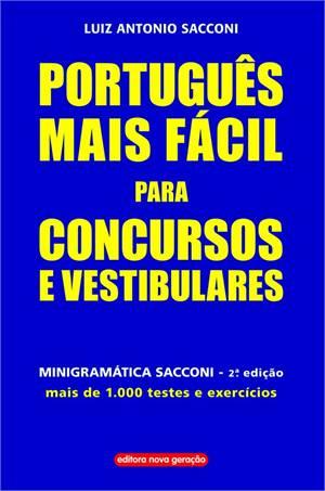 Português mais fácil para concursos e vestibulares  - SHOPPING3