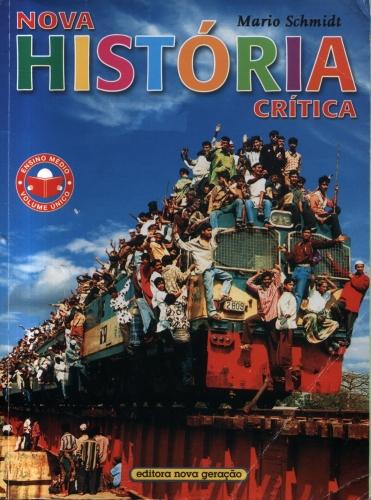 Nova História Crítica, volume único - Schmidt, Mario  - SHOPPING3