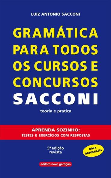 Gramática para todos os cursos e concursos  - SHOPPING3