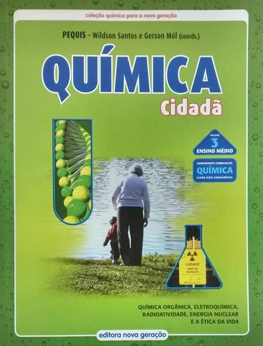 Química Cidadã - Volume 3.  - SHOPPING3