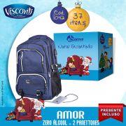 Cesta de Natal Amor 2 Panettones - Zero Álcool