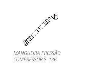 Mangueira de Pressão s-136  - DABI ATLANTE - TOP ODONTO