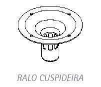 Ralo da Cuspideira / Unidade INOX  - DABI ATLANTE - TOP ODONTO