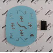 Teclado Membrana / Etiqueta comando Eletrônico da Unidade 200