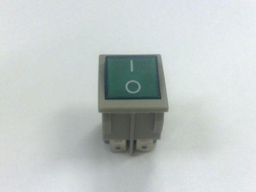 Tecla Reta Verde / Botão Chave Geral (Sob Encomenda)  - DABI ATLANTE - TOP ODONTO