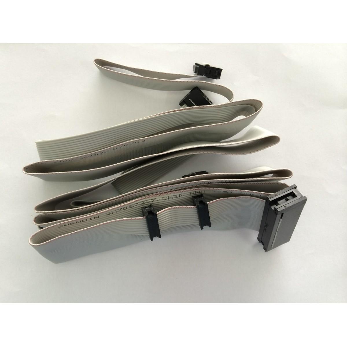Chicote / Flat Cable do Pedal Personal / Prestige 30 Vias (Sob Encomenda)  - DABI ATLANTE - TOP ODONTO