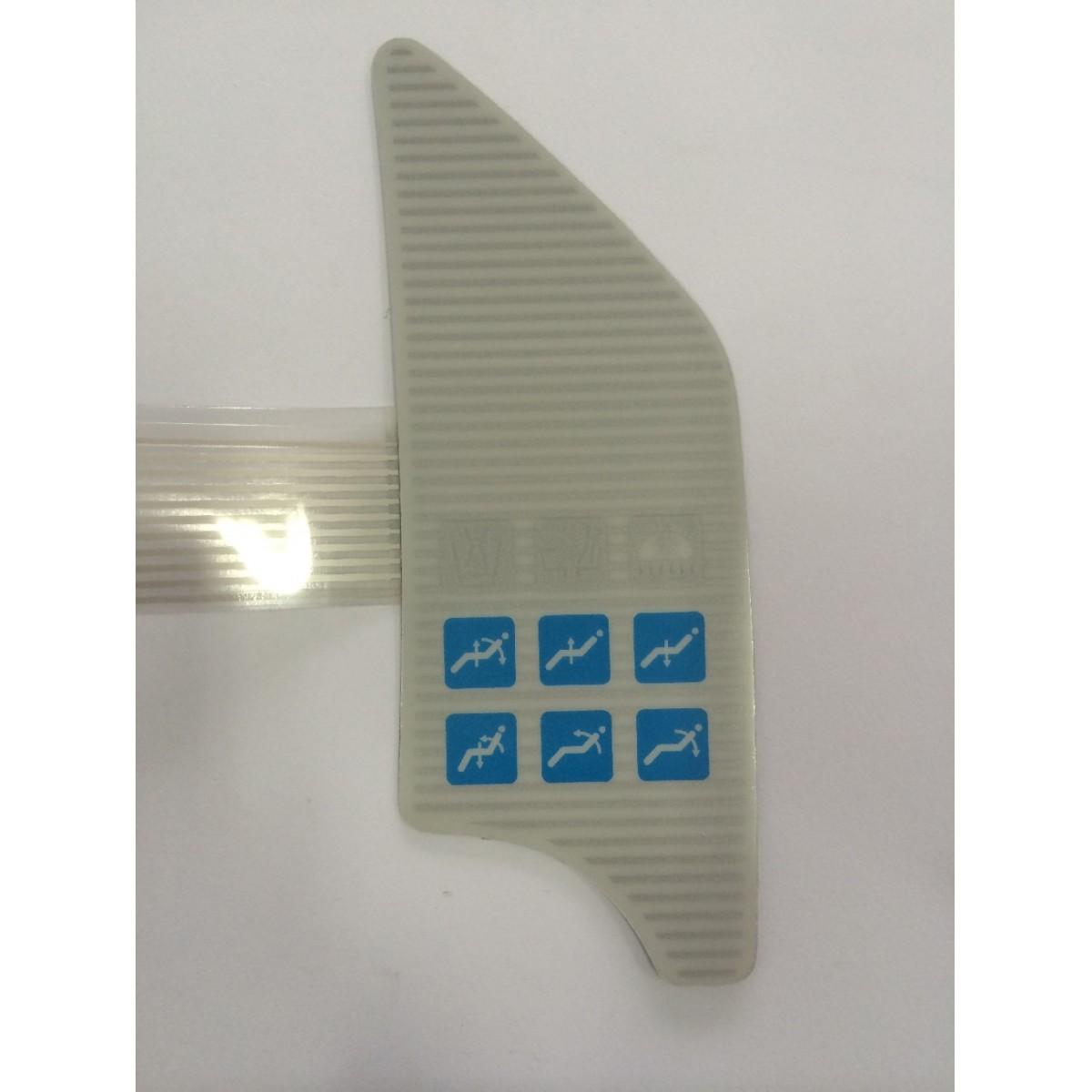 Teclado Membrana / Etiqueta Equipo Techno comando Eletrônico (Sob Encomenda)  - DABI ATLANTE - TOP ODONTO