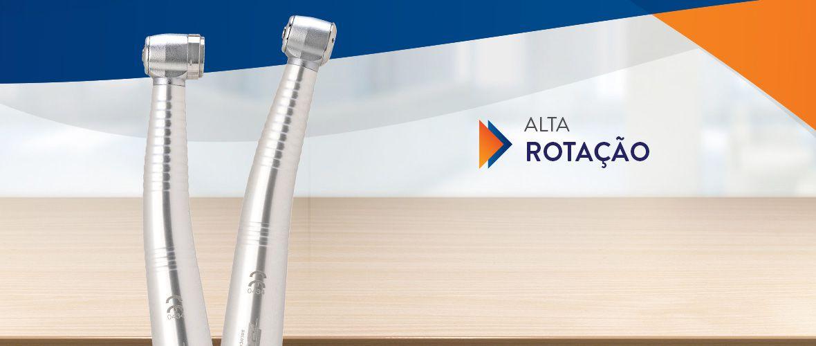 1.ALTA ROTAÇÃO D700 - PB/FG  - DABI ATLANTE - TOP ODONTO