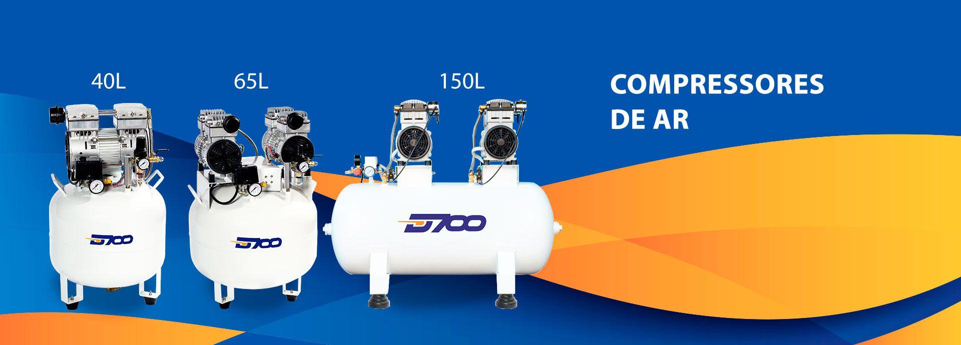 COMPRESSORES DE AR D700  - DABI ATLANTE - TOP ODONTO