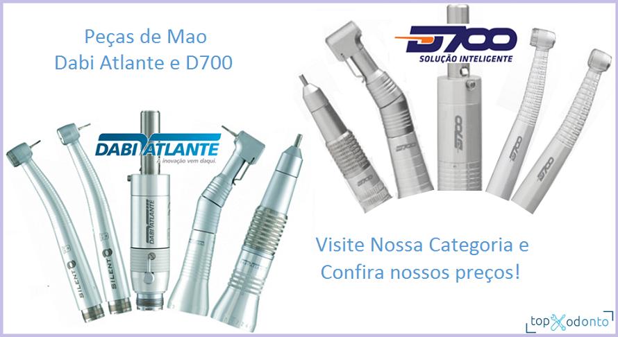 PECAS DE MAO DABI E D700  - DABI ATLANTE - TOP ODONTO