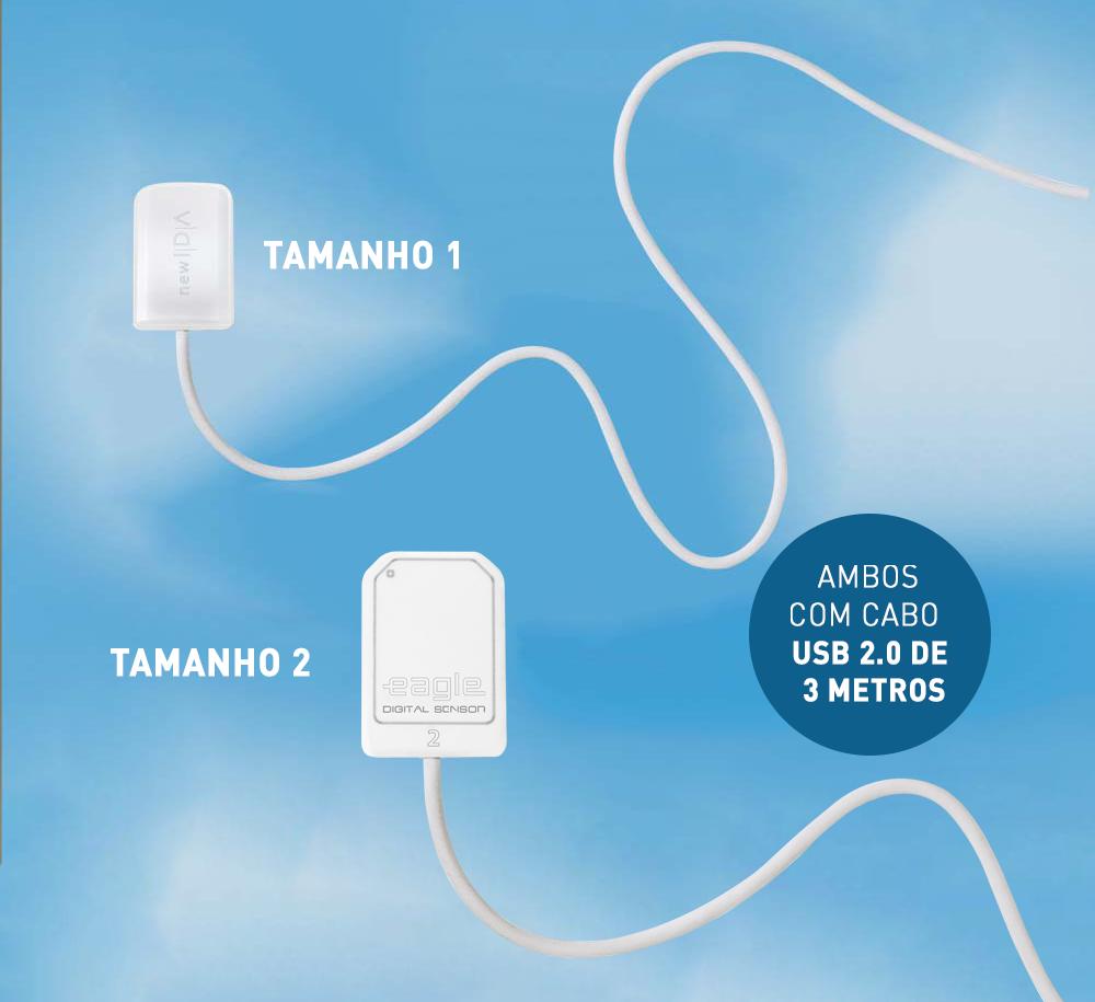 Sensor Intraoral   - DABI ATLANTE - TOP ODONTO