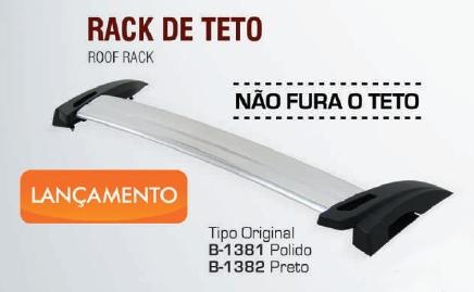 Rack De Teto Nova Montana 2011 - 2015 Bepo  - TERRA DE ASFALTO ACESSÓRIOS