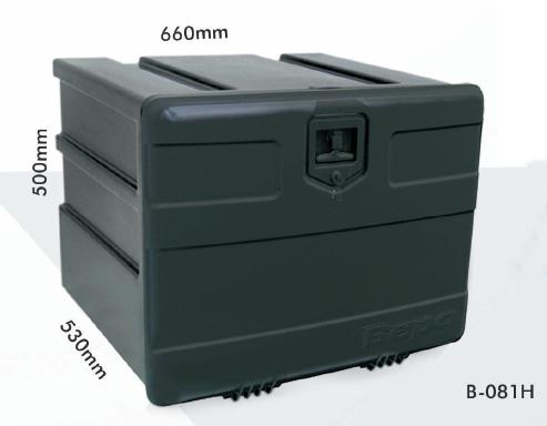 Caixa de ferramentas plástica média - bepo  - TERRA DE ASFALTO ACESSÓRIOS
