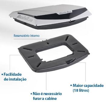Climatizador de ar - maxiclima - slim g7 - reserv interno  - TERRA DE ASFALTO ACESSÓRIOS