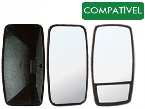 Conjunto Espelho Plano P/ MB 1114 / 1934 (18mm)  - TERRA DE ASFALTO ACESSÓRIOS