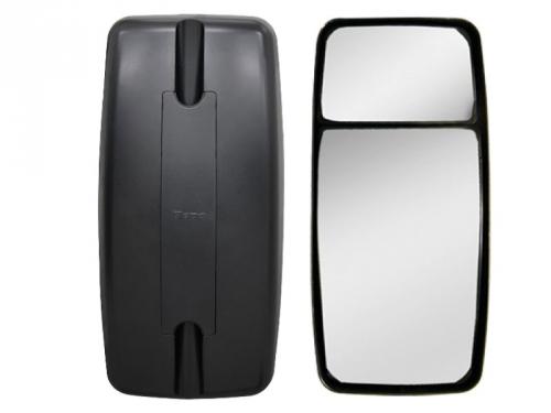 Conjunto Espelho Convexo C/ Bifocal Convexo LD P/ VW Constellation  - TERRA DE ASFALTO ACESSÓRIOS