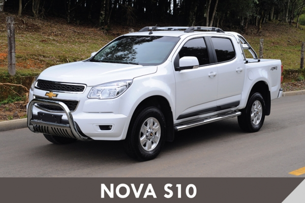 Kit Acess 243 Rios Nova S10 Cabine Dupla Cromado