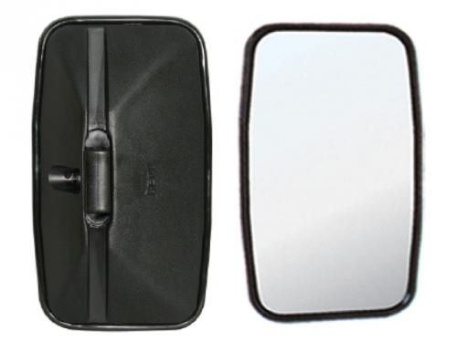 Espelho Retrovisor Avulso Plano P/ MB 709 / 912 / VW / Ford / GM  - TERRA DE ASFALTO ACESSÓRIOS