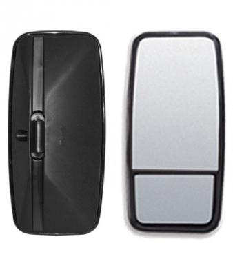 Espelho Retrovisor Avulso Plano C/ Bifocal Convexo LE P/ MB HPN  - TERRA DE ASFALTO ACESSÓRIOS