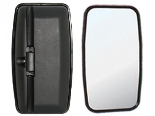 Espelho Retrovisor Avulso Plano P/ VW 10.160  - TERRA DE ASFALTO ACESSÓRIOS