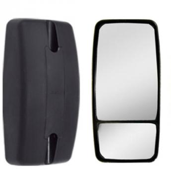 Espelho Retrovisor Avulso Convexo C/ Bifocal Convexo P/ MB 1634 / 1938LS ...2010  - TERRA DE ASFALTO ACESSÓRIOS