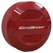 Capa de Estepe Rígida Ecosport Vermelho Arpoador