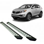 Estribo SUV Bepo Alumínio Polido Sportage 2011 a 2016