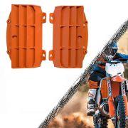 Proteção de Radiador Frontal PREMIUM KTM 2016 2017 2018 laranja