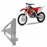 Protetor de Radiador Lateral MX - CRF450 R 2009/12 - Aluminio Polido